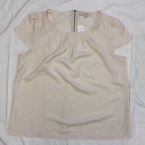 LOFT women's XL capped blouse